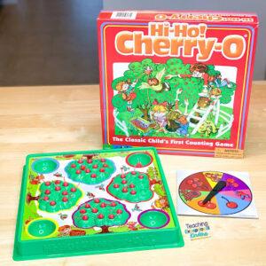 Hi Ho Cherrio Counting Game