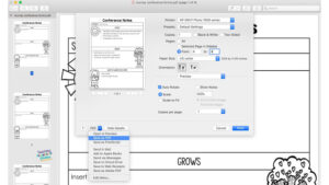 screen shot to show how to save a pdf as individual pdfs